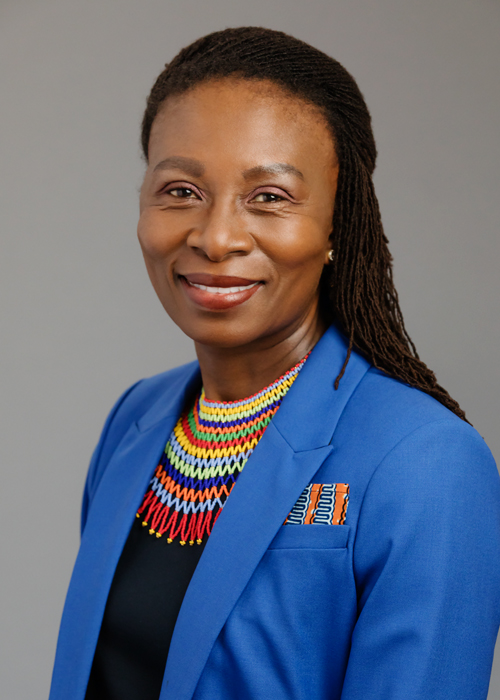Reitumetse Mabokela - vice provost for international affairs and global strategies, Office of the Provost
